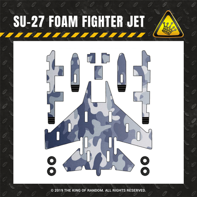 Tkor shop images su 27 foam fighter jet