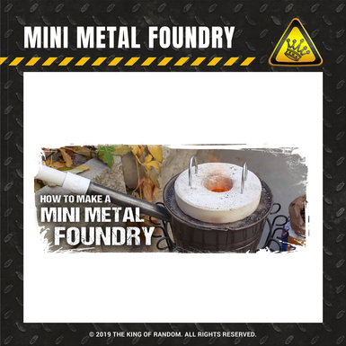 Tkor shop images mini metal foundry