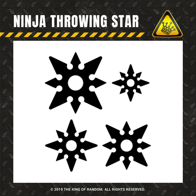Tkor shop images ninja throwing star