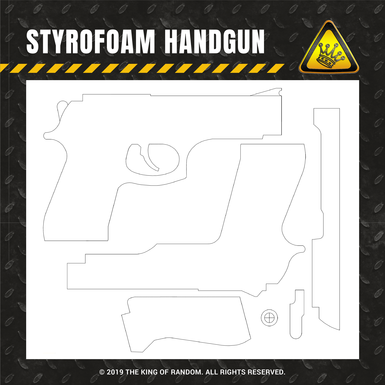 Tkor shop images styrofoam handgun
