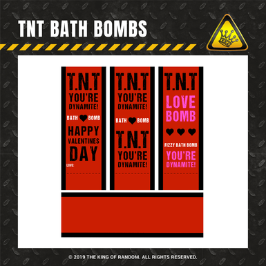 Tkor shop images tnt bath bombs